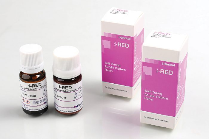 i-RED - Self Curing Acrylic Patern Resin